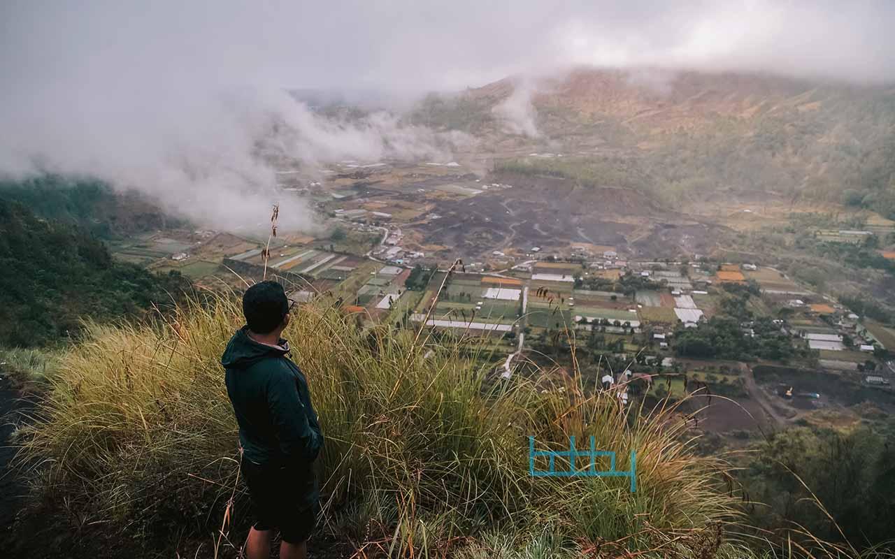 Mengunjungi Desa Pinggan Kintamani